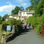 Arriving at Brantwood