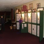 The Display Set Up Outside the Dress Circle