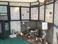 The Pigeon Post display