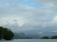 Wild Cat Island and Coniston Water from Gondola