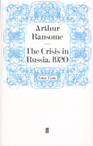 cover of faber finds edition of the crisis in russia