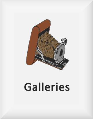 Ransome's drawing of a camera, our galleries logo