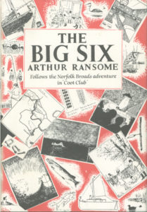 cover of jonathan cape edition of the big six