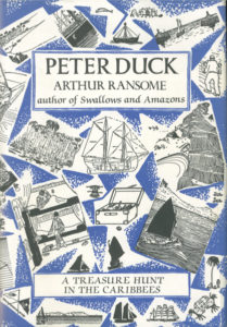 cover of jonathan cape edition of peter duck