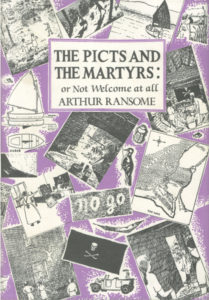 cover of jonathan cape edition of the picts and the martyrs