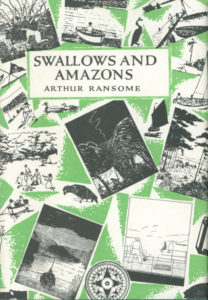cover of jonathan cape edition of swallows and amazons