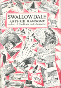 cover of jonathan cape edition of swallowdale