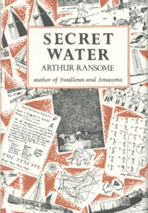 cover of jonathan cape edition of secret water