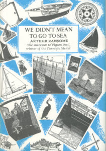 cover of jonathan cape edition of we didn't mean to go to sea