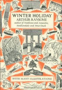 cover of jonathan cape edition of winter holiday