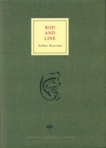 cover of medlar press edition of rod and line