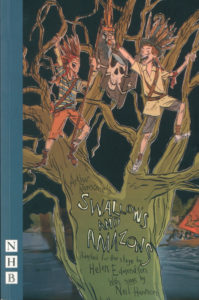 cover of nick hern book's edition of the swallows and amazons play script