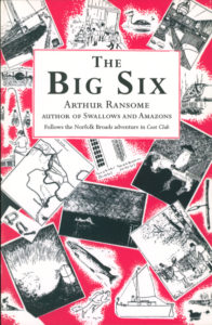 cover of red fox edition of the big six