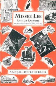 cover of red fox edition of missee lee