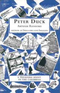 cover of red fox edition of peter duck