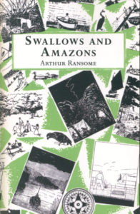 cover of red fox edition of swallows and amazons