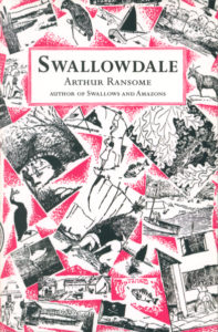 cover of red fox edition of swallowdale