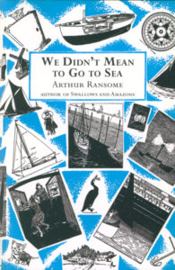 cover of red fox edition of we didn't mean to go to sea
