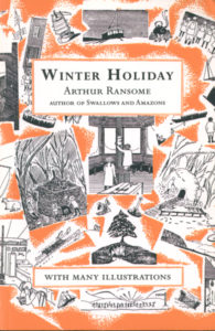 cover of red fox edition of winter holiday
