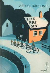 cover of vintage edition of the big six