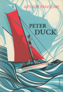 cover of vintage edition of peter duck