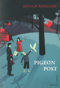 cover of vintage edition of pigeon post