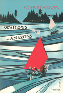 cover of vintage edition of swallows and amazons