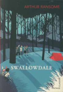 cover of vintage edition of swallowdale