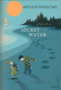 cover of vintage edition of secret water