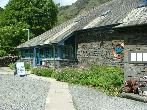 The Ruskin Museum where From Coniston to the Kremlin is currently open