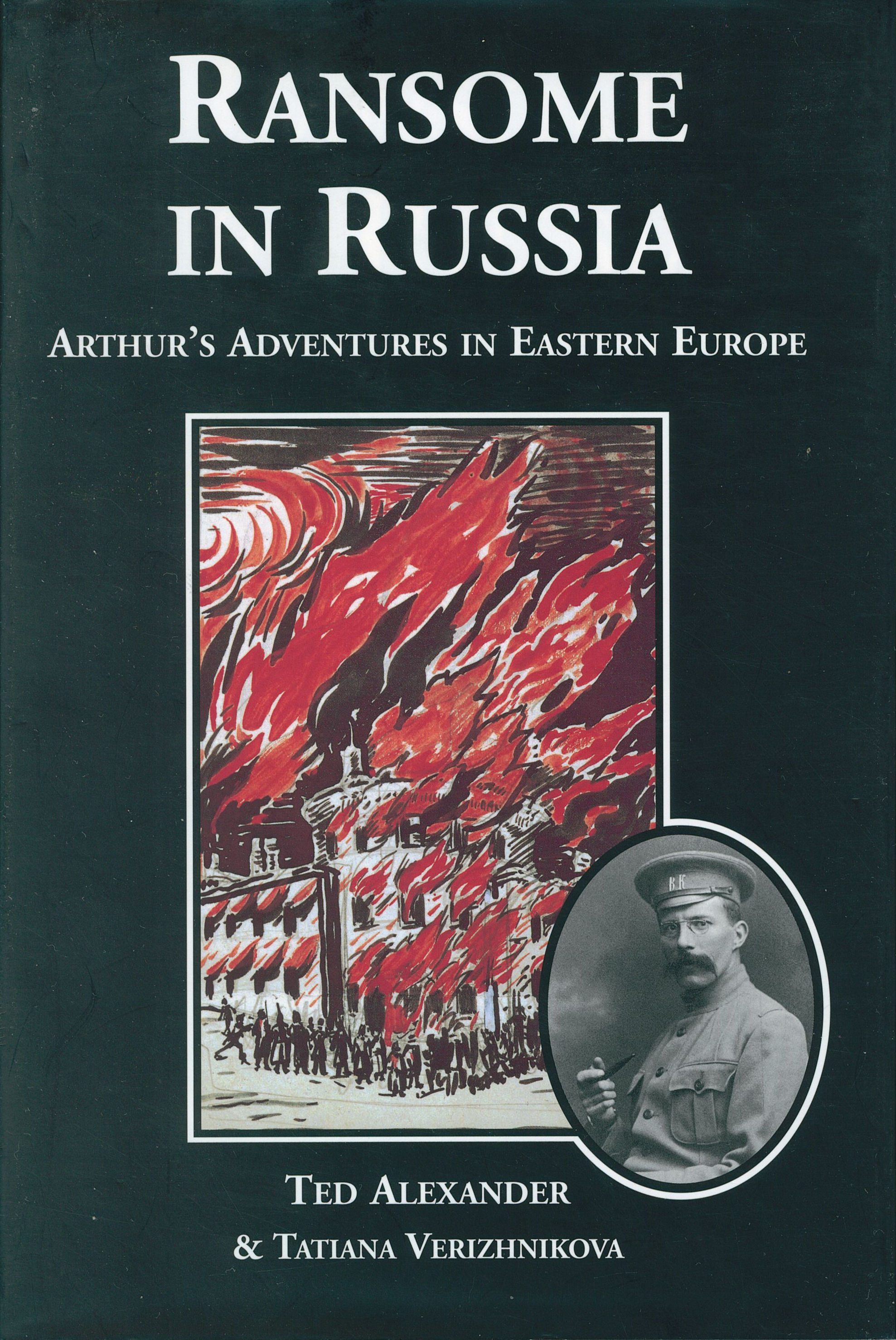 cover of ransome in russia