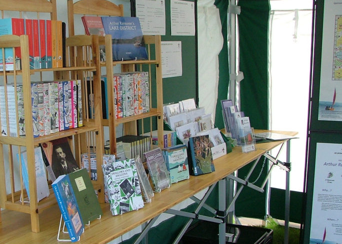 The ART bookstall in 2014