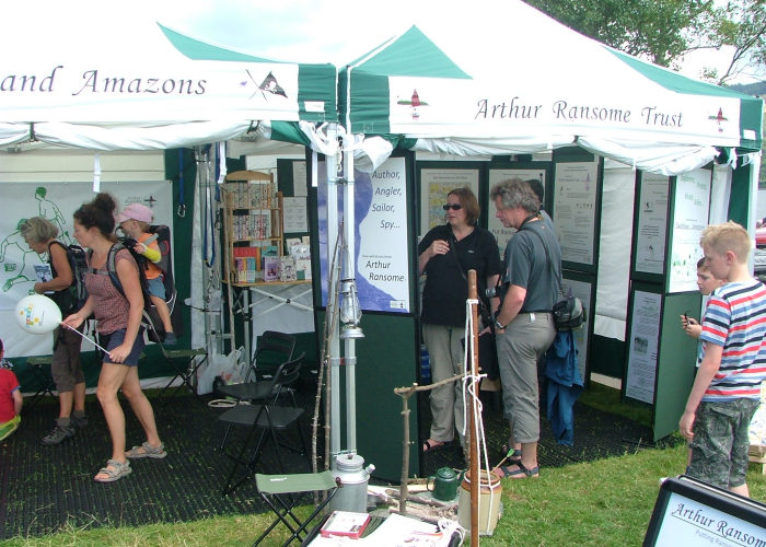 Visitors at Coniston Country Fair