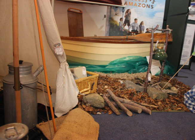 Indoor camp at Brockhole
